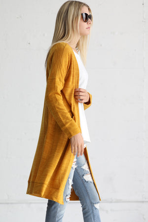 Long Sleeve Cardigan Duster