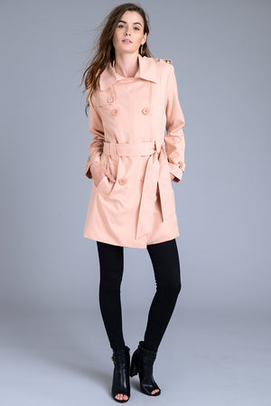 Classic Belted Trench Coat