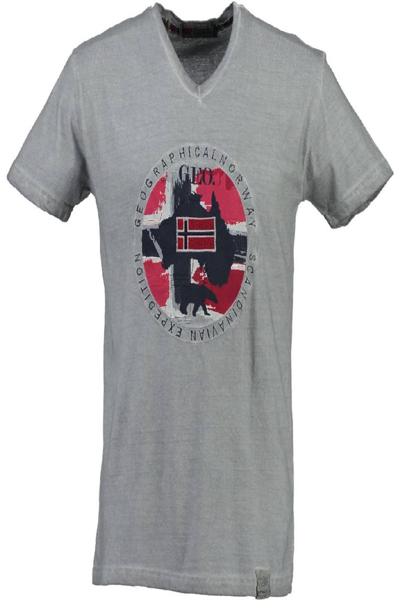 GEOGRAPHICAL NORWAY T-SHIRT MANICHE CORTE Uomo