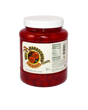 Dells Maraschino Cherries - NO STEMS