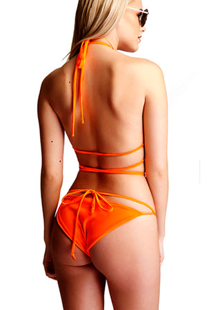 The Amelia Criss Cross - Orange