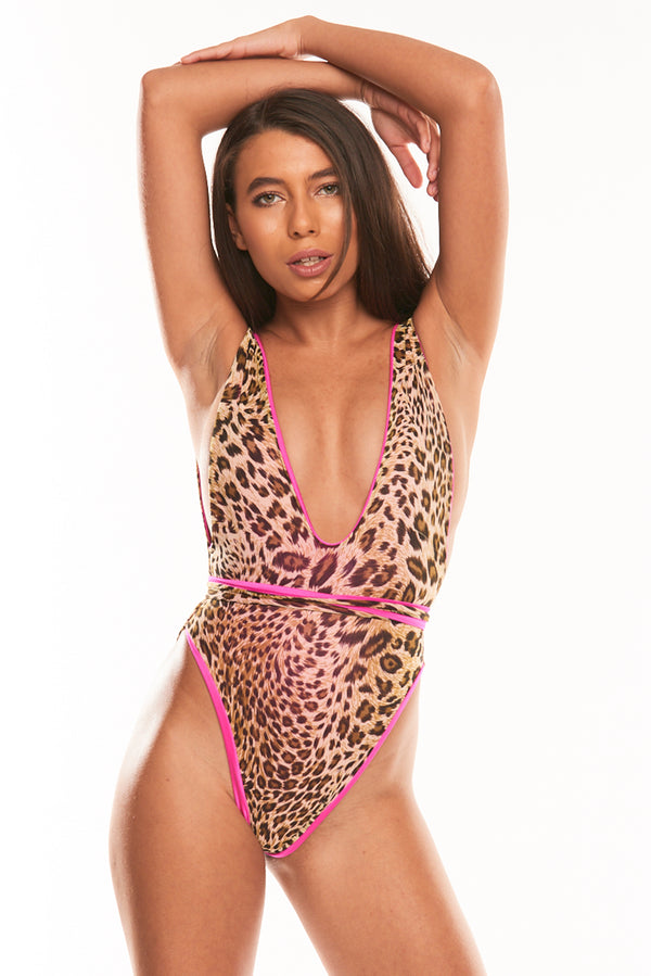 The Muna One Piece - Reversible PinkPrint
