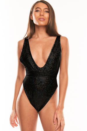 The Muna One Piece - Reversible Silver Hologram
