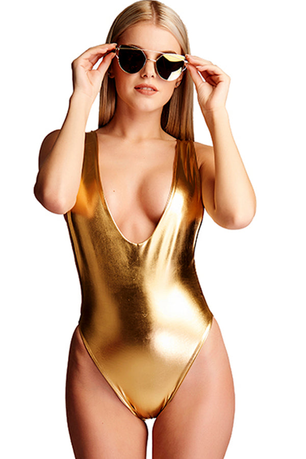 The Sofia Metallic Poolside - Gold