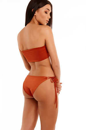 The Talia Cross Tube - Burnt Orange