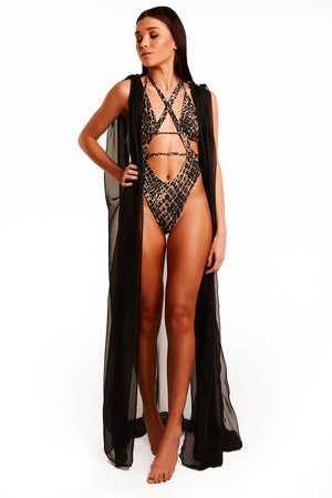 The Keiki Cover Up Long - Black