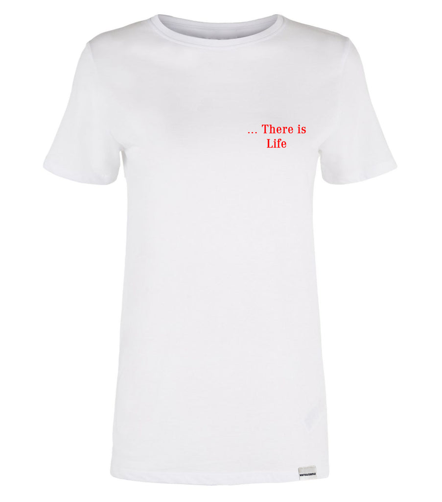 THERE IS LOVE YUVARLAK YAKA T-SHIRT