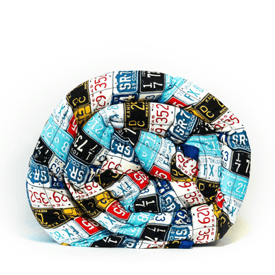 License Plates Weighted Blanket