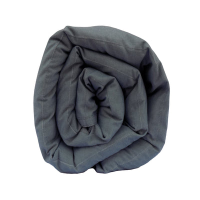 Mosaic Weighted Blankets Comfortable Grey Flannel