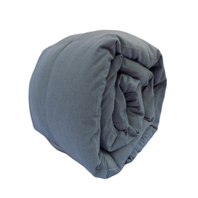 Mosaic Weighted Blankets Comfy Chambray Weighted Blanket
