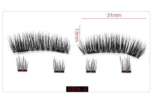3D Magnetic Eyelashes 6pcs
