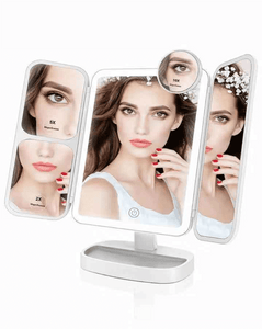 Professional 2X/5X/10X Makeup Mirror with 38 LEDs