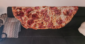 The Pizza & Donut Blanket