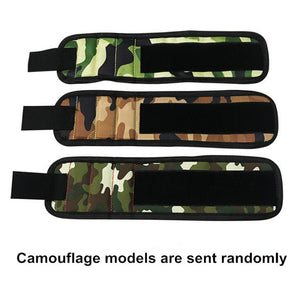 Magnetic Wristband for tools Camouflage