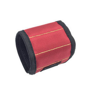 Tools Holding Magnetic Wristband Red