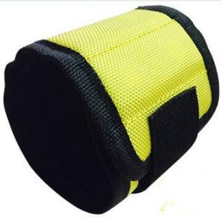 Yellow Colour Magnetic Wristband for Screws
