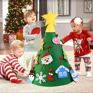 Kids DIY Christmas Tree Decoration