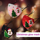 Christmas Glowing Face Mask
