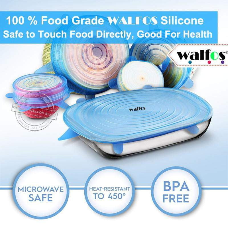 Walfos™ Universal Silicon Lids