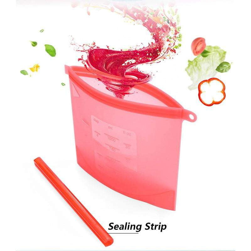 Reusable Silicone Food Storage Bag