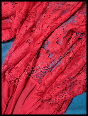 Sheer Lace Ladies' Robe