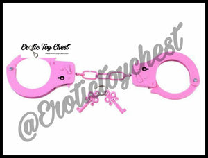 Metal Handcuffs & Keys