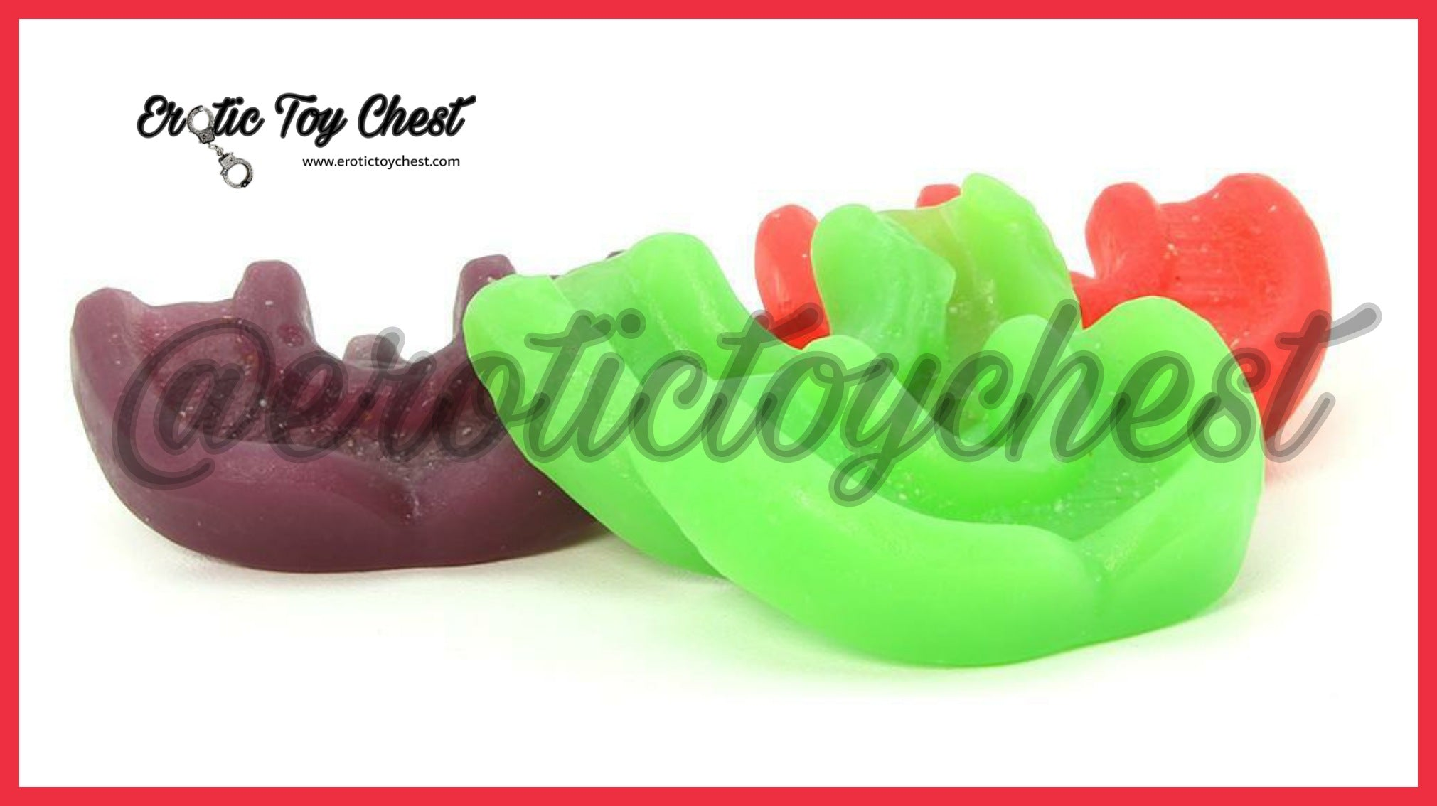 Oral Sex Gummy Candy Teeth Covers