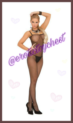 Kinky Jenise Fishnet Bodystocking (Plus Size Available)