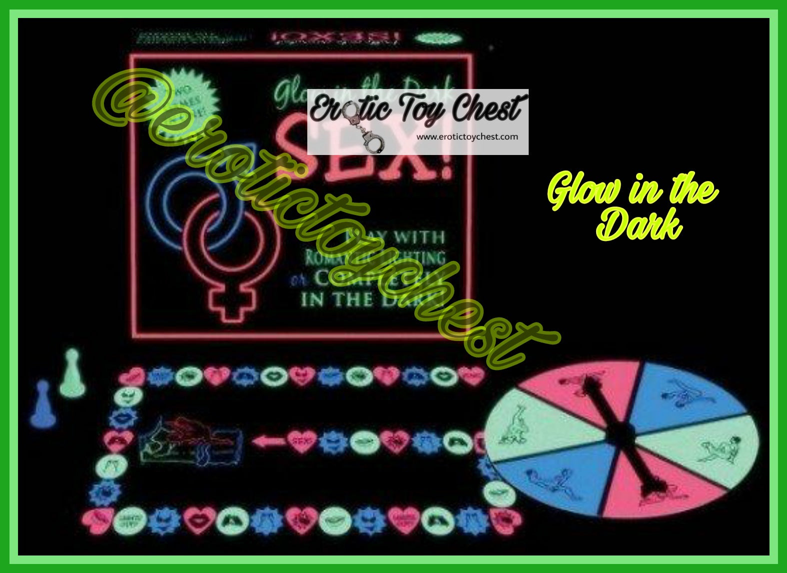 Glow in the Dark Sex Board Game