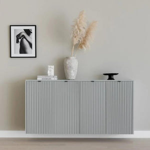 Metod 160x80cm slatted cabinet with top & sides