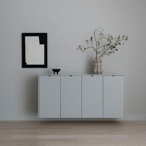 Metod 160x80cm Basic cabinet (with top, sides & handles)