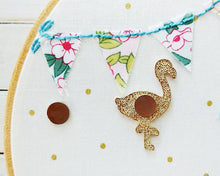 Flossie the Flamingo - Magnetic Embroidery Needle Minder