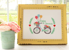 Load image into Gallery viewer, Enjoy the Journey Cross Stitch PDF Pattern