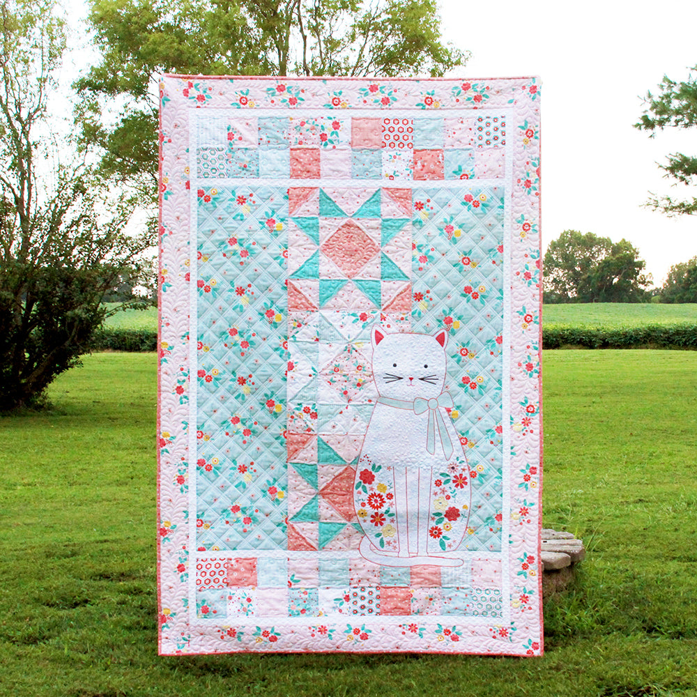Daisy's Garden PDF Quilt Pattern DOWNLOAD