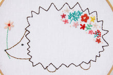 Harriet the Floral Hedgie Embroidery Pattern