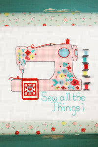 Sew All The Things Cross Stitch PDF Pattern