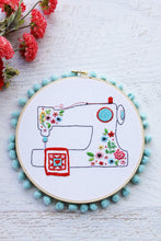 Floral Sewing Machine Embroidery Pattern