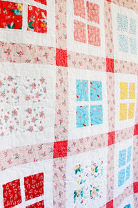 Gingham Windows PAPER Quilt Pattern