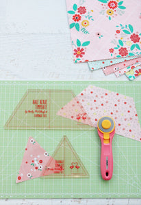 Half Hexie and Triangle Template Set