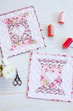 Heart and Home and Love to Stitch Quilt Block PDF Patterns
