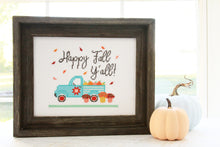 Happy Fall Y'all Paper Cross Stitch Pattern!