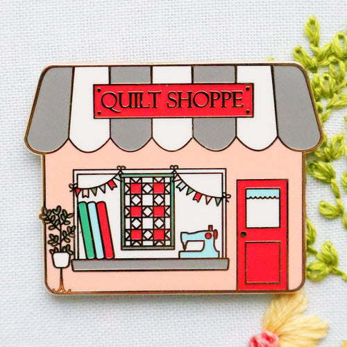 Quilt Shoppe Main Street Magnetic Needle Minder