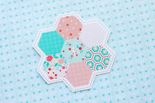 Rose Lane Hexagon Sticker
