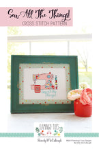 Sew All The Things Paper Cross Stitch Pattern!