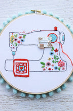 Floral Sewing Machine Needle Minder