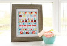 Singing in the Rain Cross Stitch PAPER Pattern