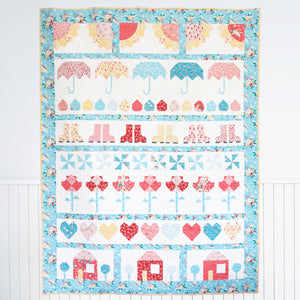Singing in the Rain PDF Quilt Pattern