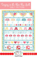 Singing in the Rain PAPER Quilt Pattern