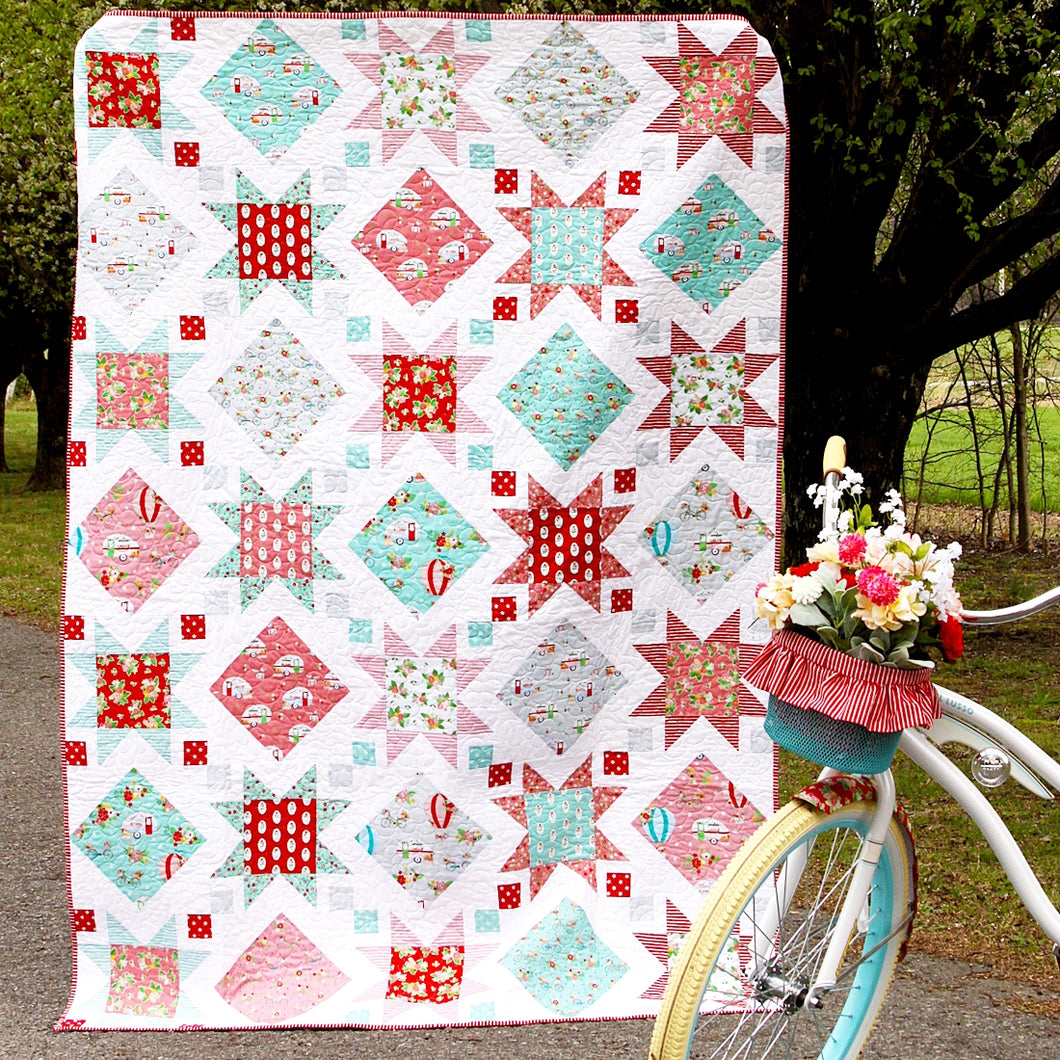 Stars and Windows PAPER Quilt Pattern