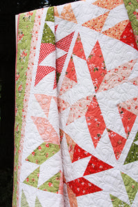 Stacking Stars PAPER Quilt Pattern